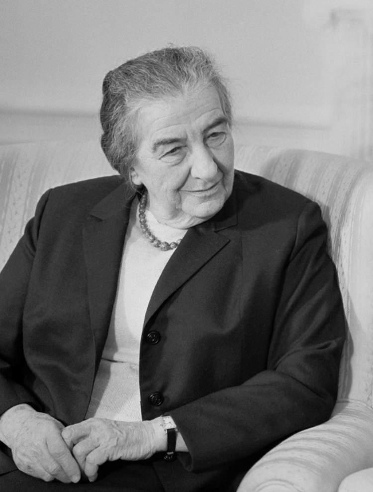 Golda Meir foi uma das maiores líderes femininas de sucesso