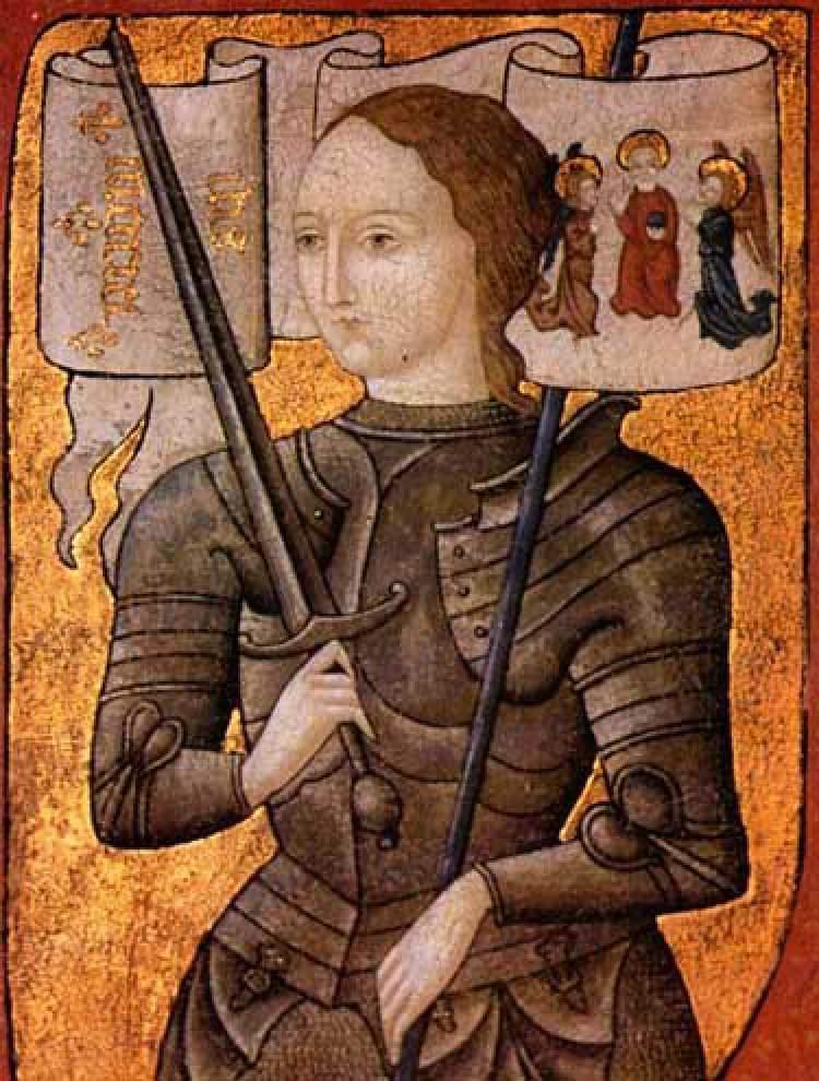 Joana D'Arc foi uma das maiores líderes femininas de sucesso