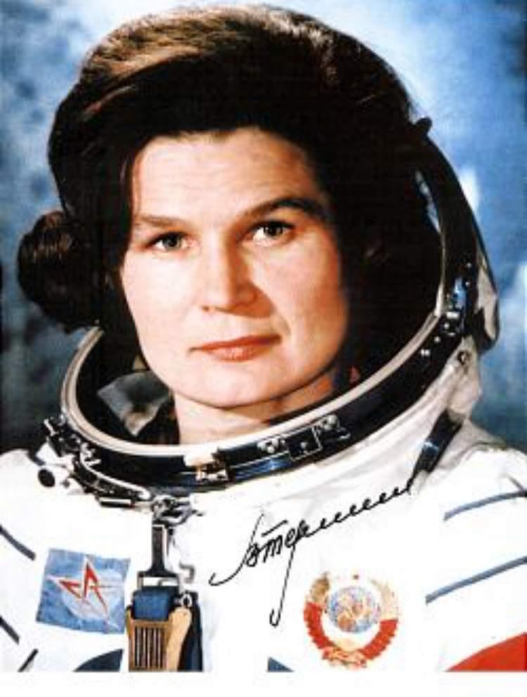 Valentina Tereshkova foi uma das maiores líderes femininas de sucesso