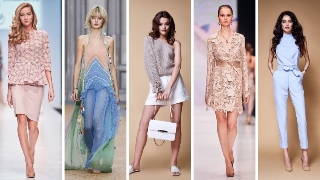 Looks em tons pastéis estão entre as principais tendências da moda primavera /verão 2019