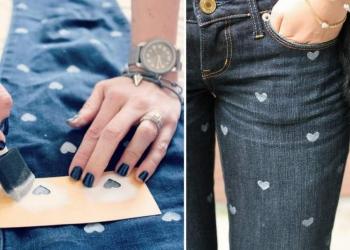 Recuperar o jeans