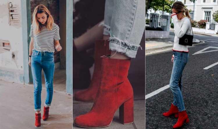 Ankle boot vermelha será um grande sucesso do inverno 2018