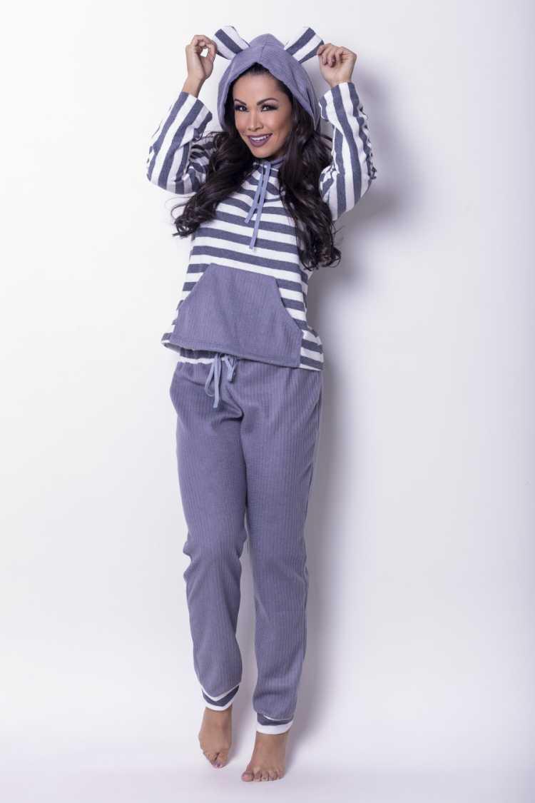 Pijamas e moletons fashion estão com tudo