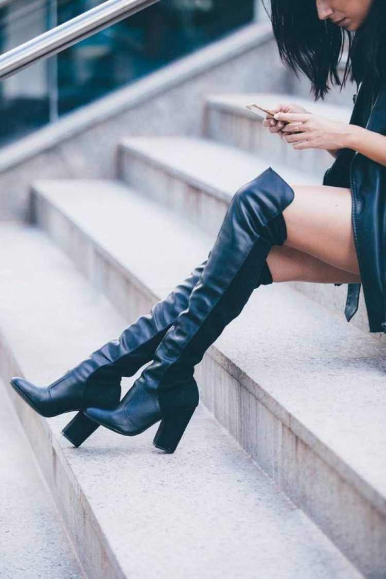 A over the knee é uma das botas que transformam o look