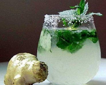 Bebida para reduzir a barriga e combater a retenção de líquidos