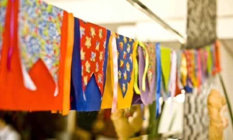 Bandeirinhas de tecido
