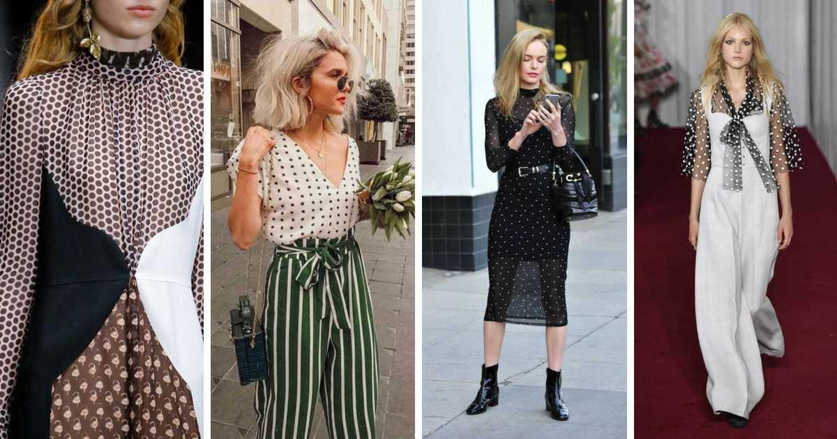 As polka dots, (ou poás, aquelas bolinhas como são conhecidas), provaram que são uma tendência atemporal, vira e mexe ressurgem no universo da moda.