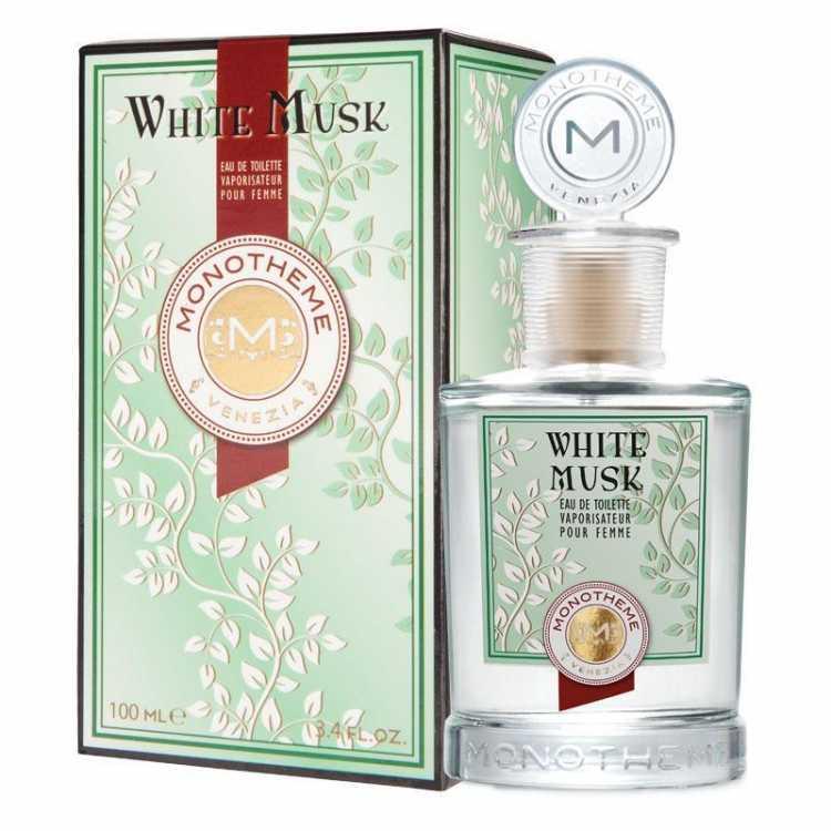 White Musk Monotheme Eau de Toilette é um dos melhores perfumes sensuais para mulheres calientes