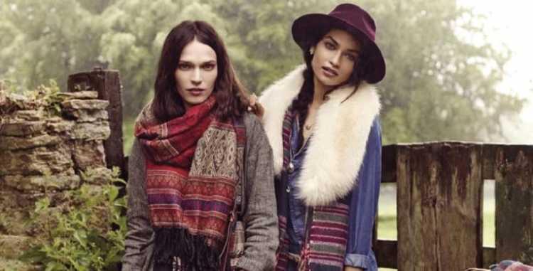 Acessórios na composição do look para inverno