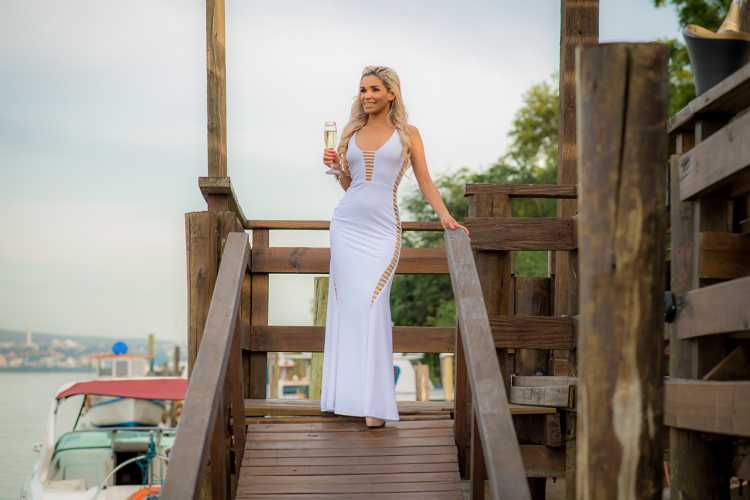 Como criar um look com vestido branco