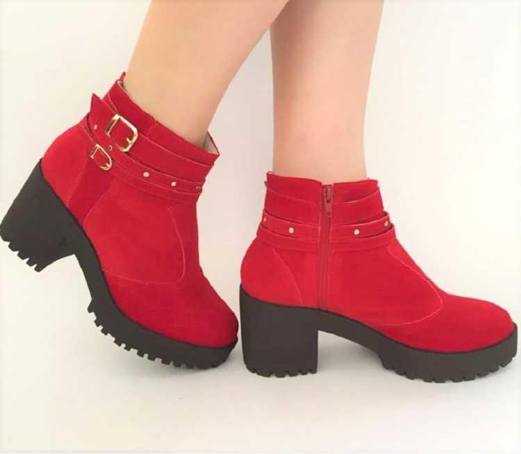 Como usar a bota vermelha