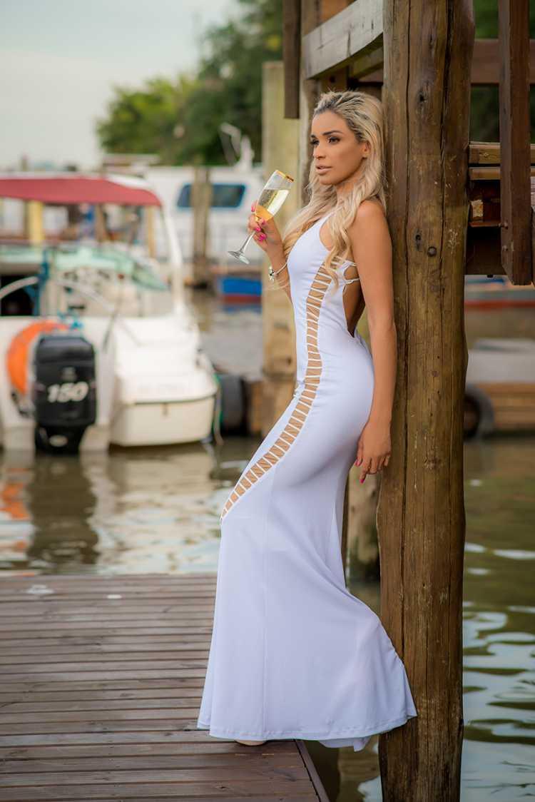 Como usar o vestido branco