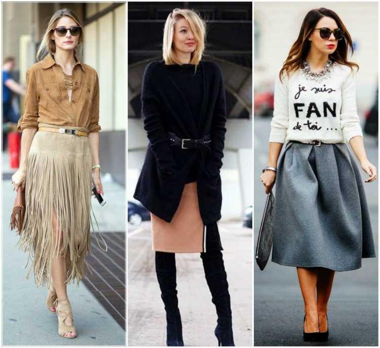 Como usar saia midi no inverno