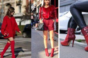Descubra como usar a bota vermelha