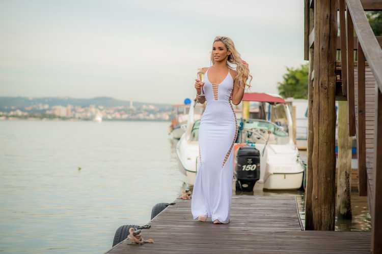 Ideia de look com vestido branco