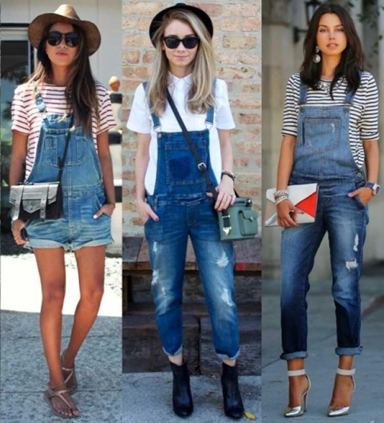 Look com macacão ou macaquinho jeans