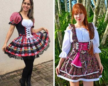 Melhores vestidos caipiras para festa junina 2018