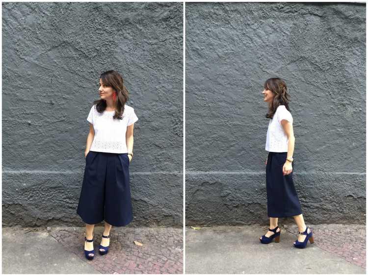 Mulher baixinha pode usar calça pantacourt ?