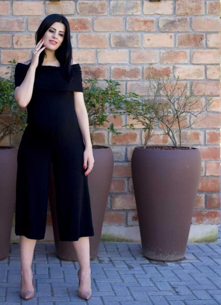 Mulher grávida pode usar calça pantacourt