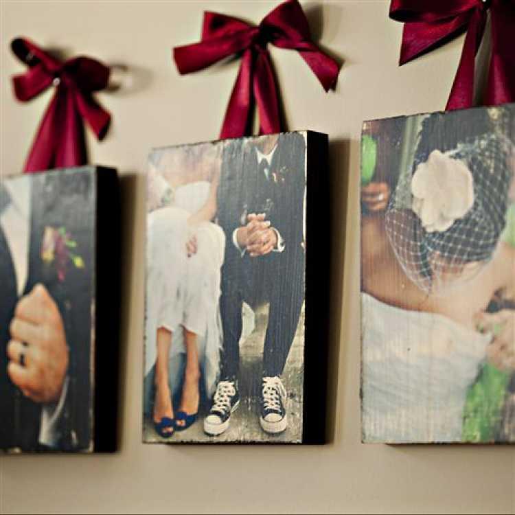 A história do casal na decoração do quarto