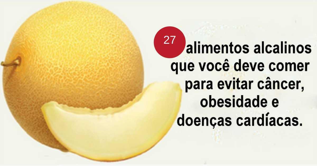 Alimentos alcalinos que reduzem os riscos de câncer, obesidade e doenças cardíacas