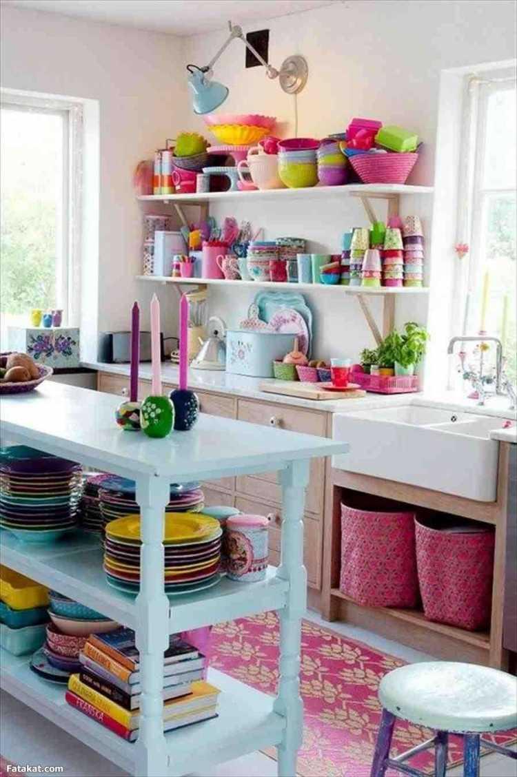 Cores para decorar uma cozinha pequena