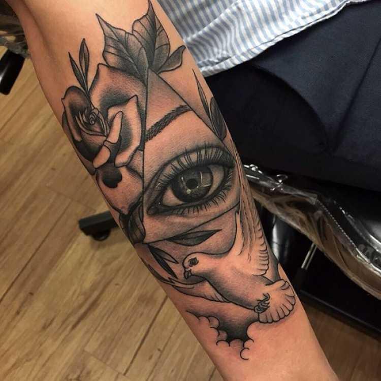 ideia de tatuagem para mulher
