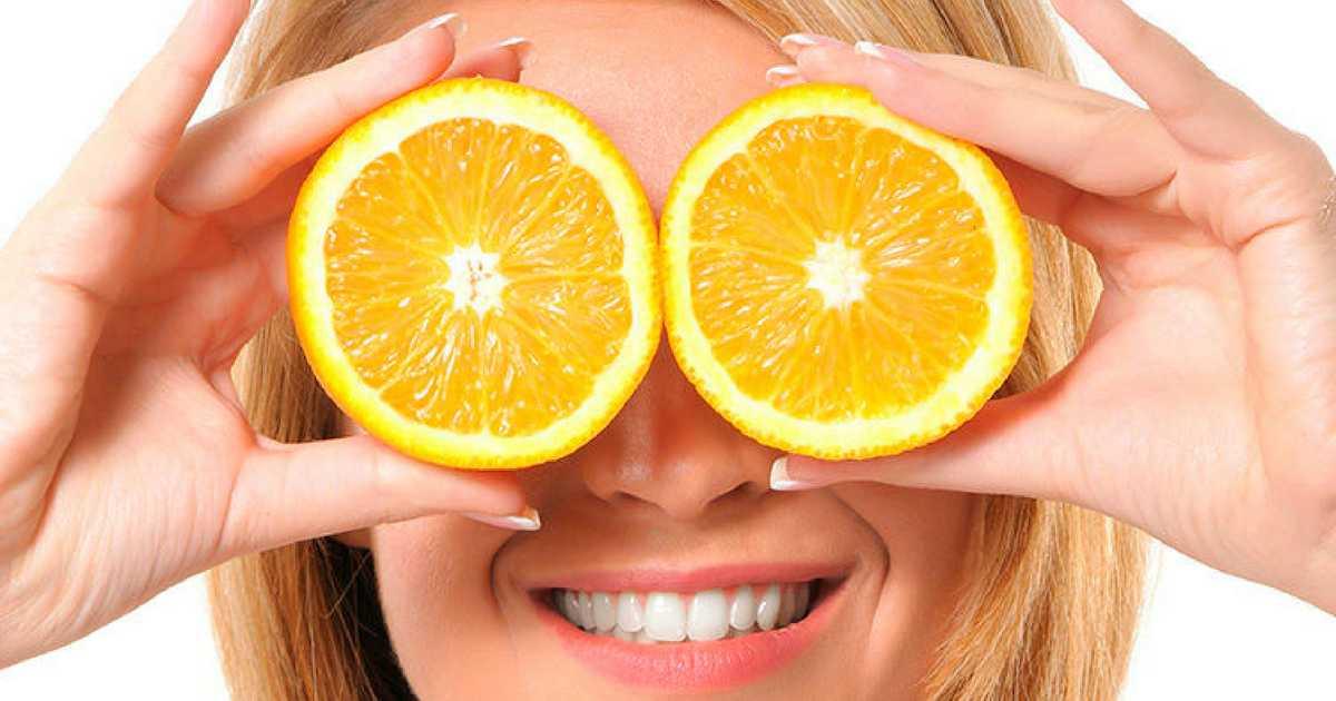 Laranja é um dos alimentos essenciais para a saúde dos seus olhos