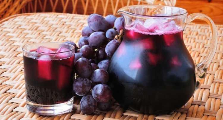 Suco de Uva é um dos alimentos essenciais para a saúde dos seus olhos