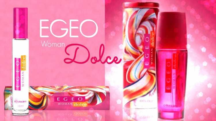 Egeo Dolce (O Boticário) é um dos perfumes femininos brasileiros para se orgulhar