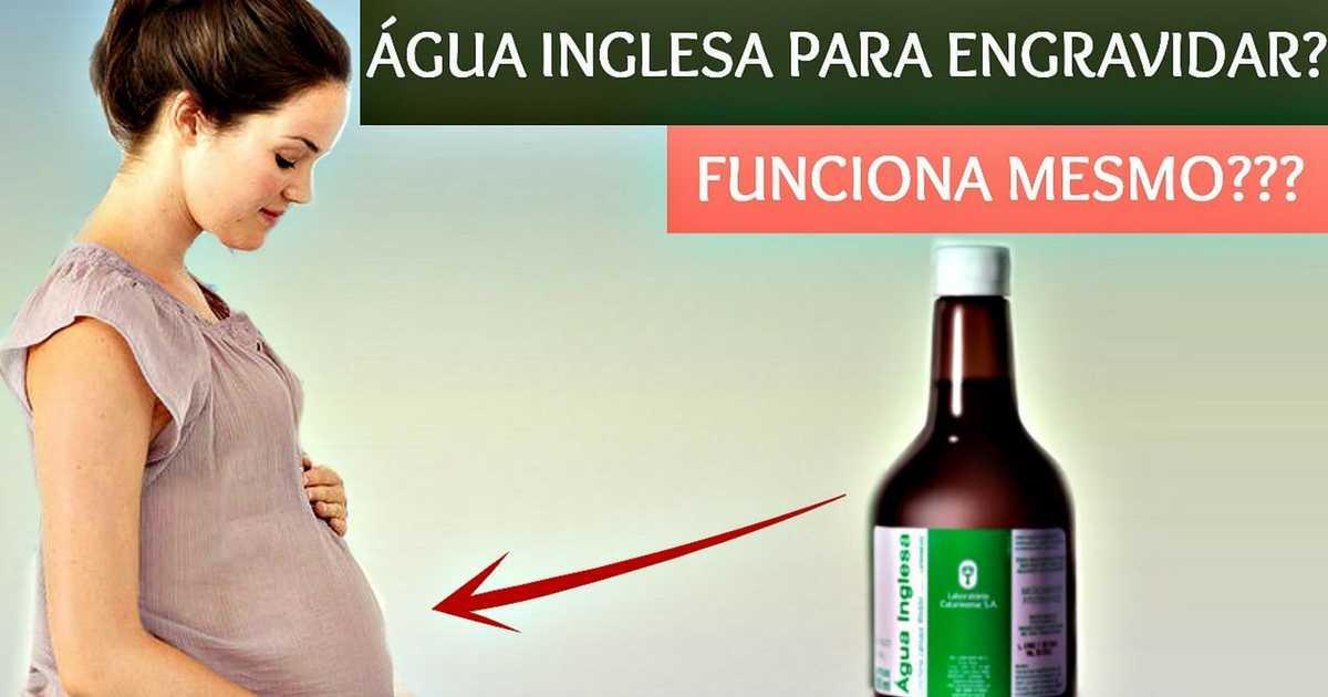 Água inglesa para engravidar: funciona mesmo?