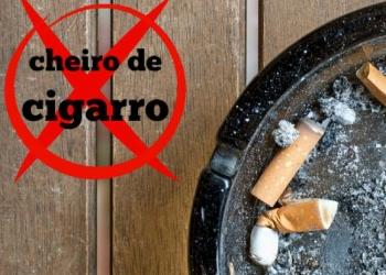Como tirar o cheiro de cigarro