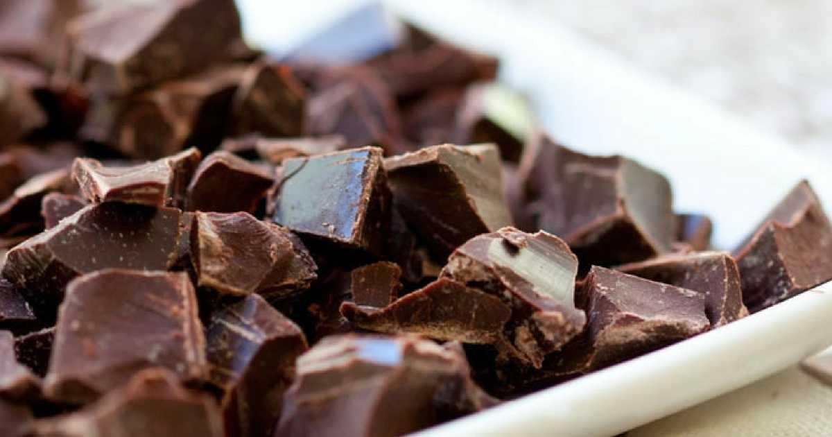 razões para você comer chocolate todos os dias