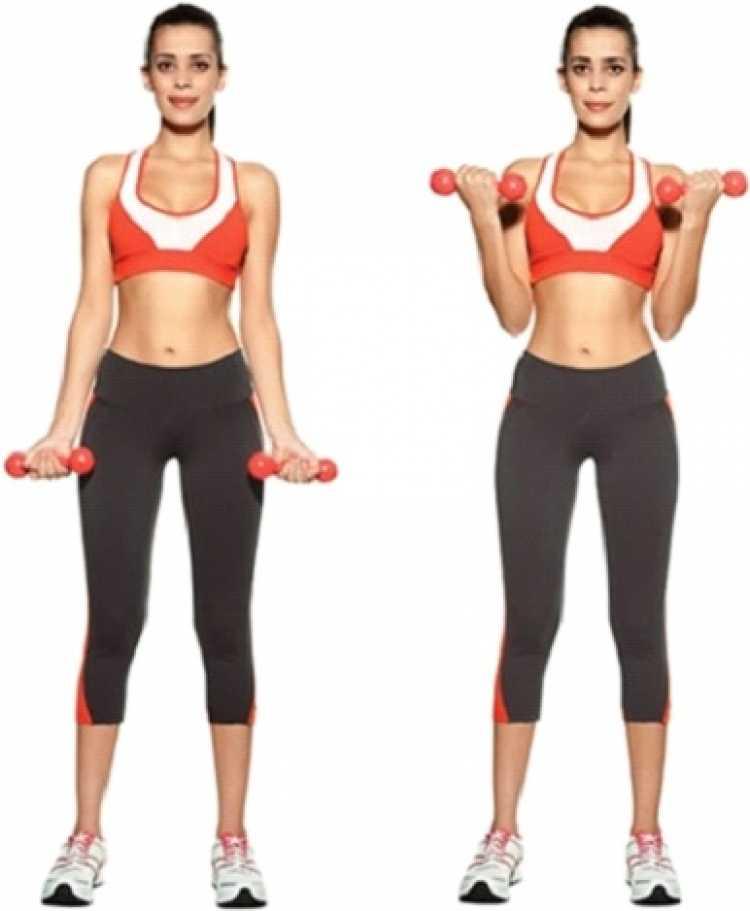 Rosca direta é um dos melhores exercícios para mulheres com mais de 40 anos.