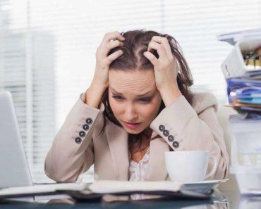 Sintomas de estresse crônico e esgotamento