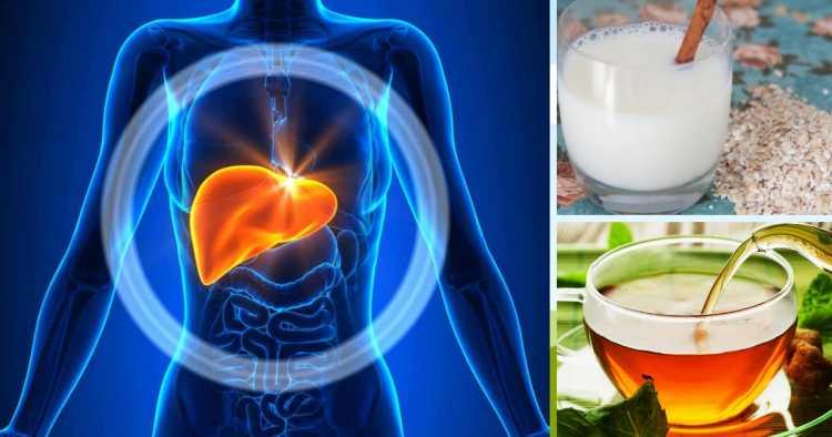 bebidas para desintoxicar seu fígado