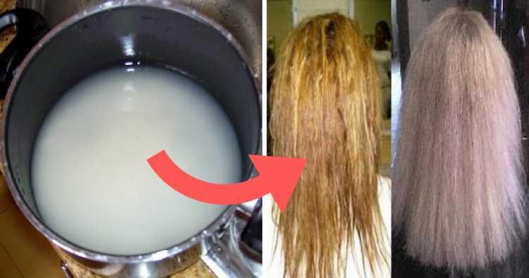 Aprenda a preparar e aplicar uma poderosa receita caseira com água de arroz para revitalizar cabelos danificados e secos.