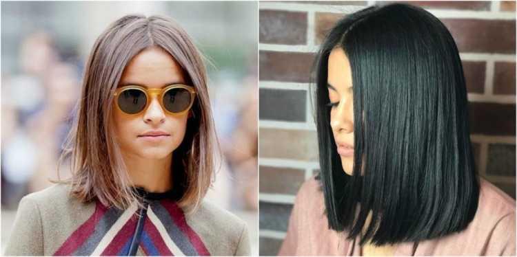 Blunt Cut é uma das tendências de cabelos curtos para o verão 2019