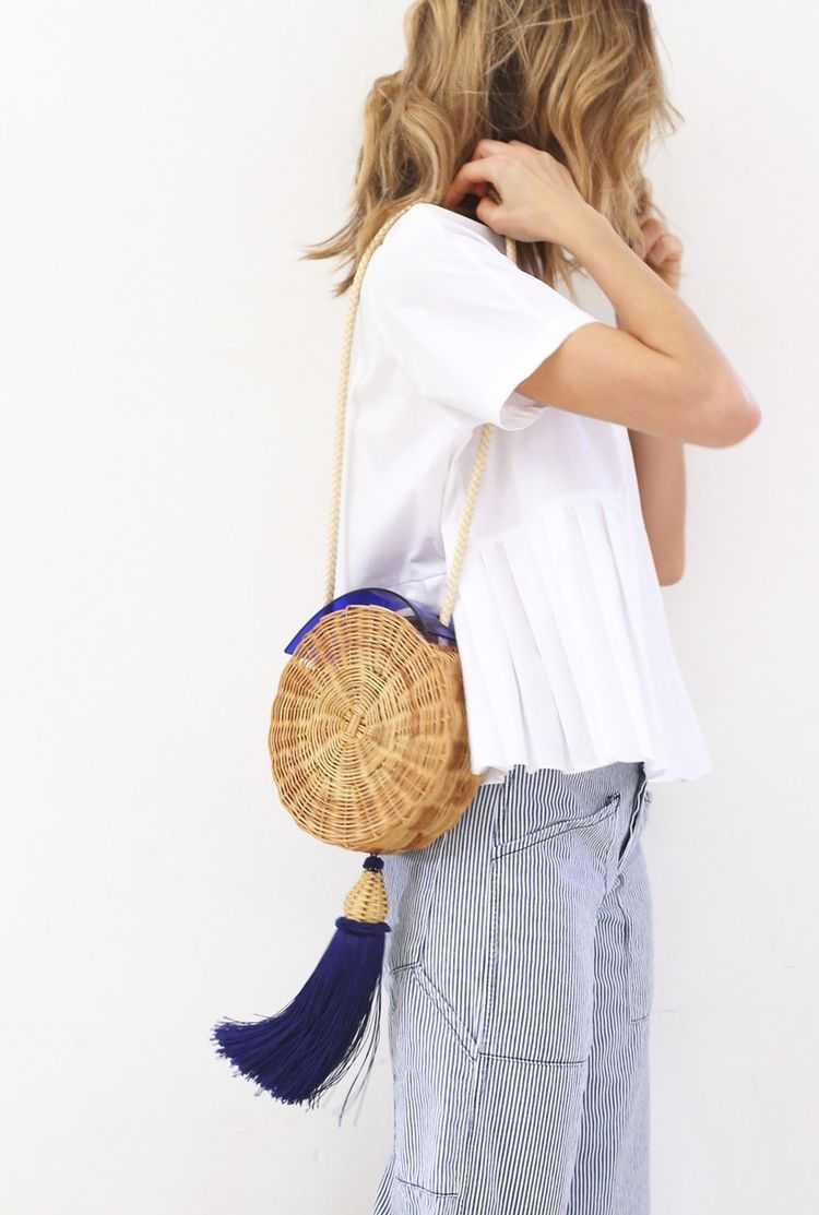 Bolsa de Palha é um dos itens da moda verão 2019 para você colocar na lista de desejos