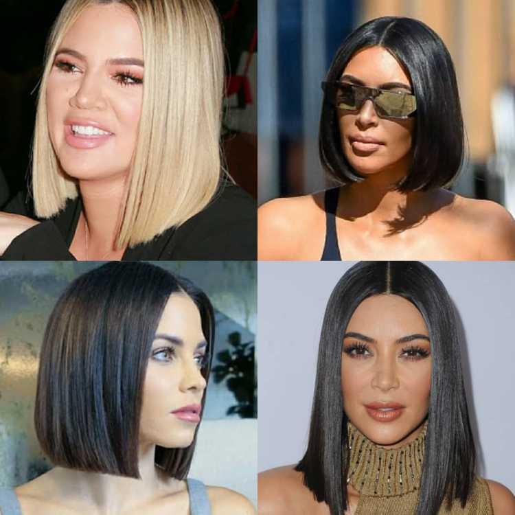 Glass Hair é uma das tendências de cabelos curtos para o verão 2019