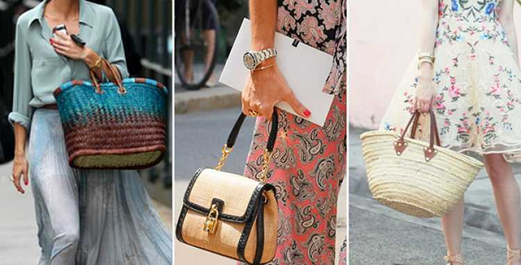 Modelos de bolsa de palha