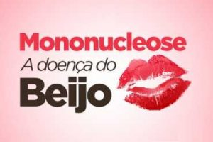 """A mononucleose, também conhecida como """"doença do beijo"""", é uma infecção causada por vírus e transmitida através da saliva."""