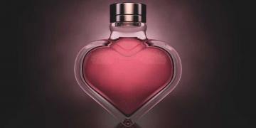 Perfumes femininos com aroma do amor