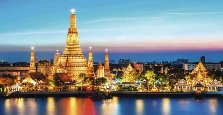 Bangkok na Tailândia é um dos destinos baratos para Réveillon 2019