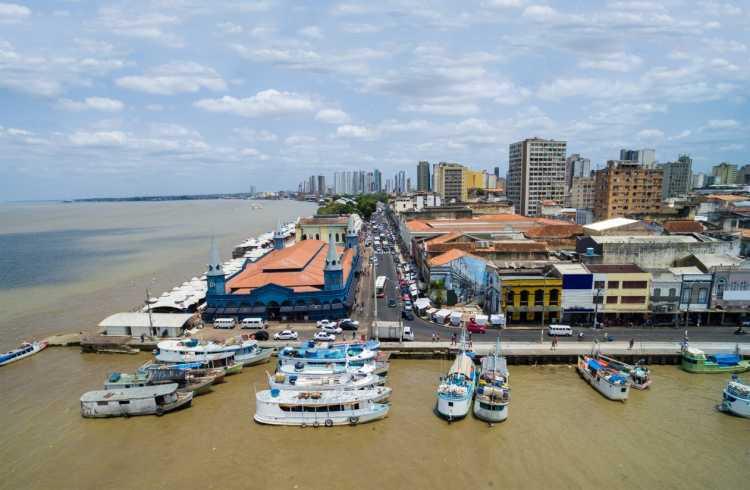 Belém no Pará é um dos destinos baratos para réveillon 2019