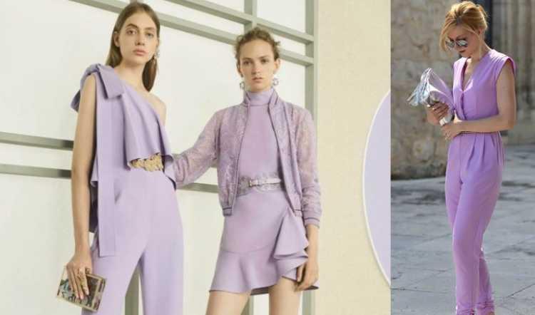 Cor lavanda é uma das tendências de roupas leves para o verão 2019