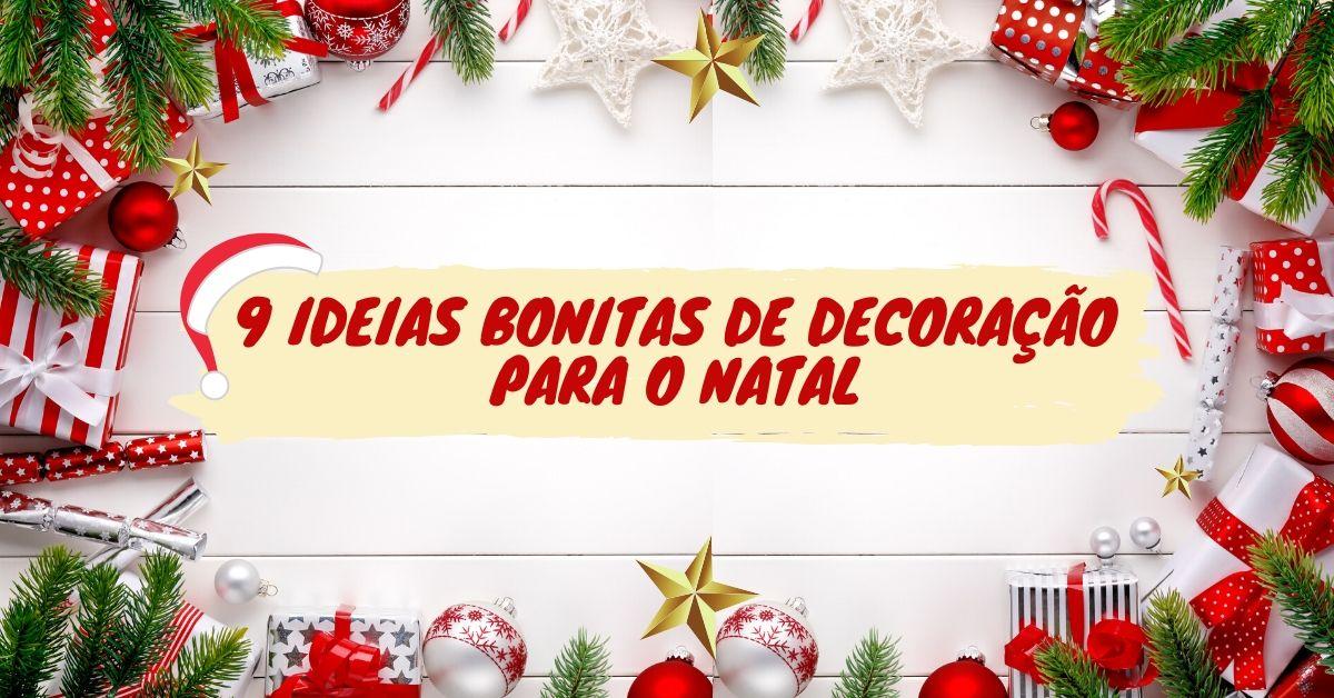 Ideias para decoração de Natal