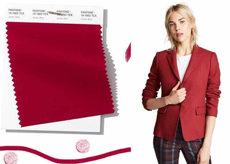 Jester Red é uma das cores que são tendências da Pantone 2019