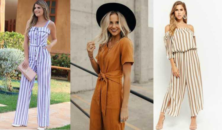 Macacão de linho é uma das tendências de roupas leves para o verão 2019