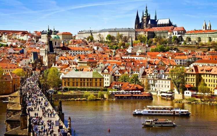 Praga na República Tcheca é um dos destinos baratos para Réveillon 2019